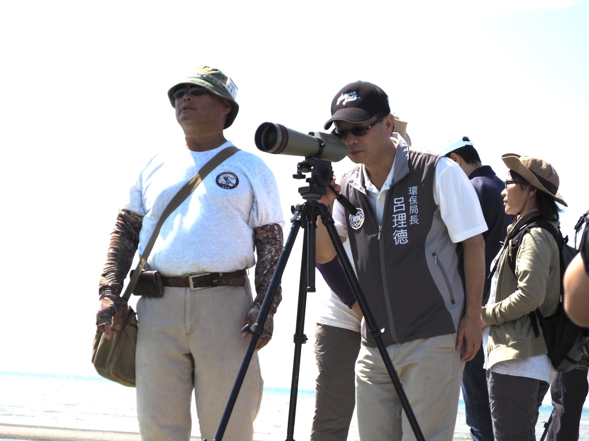 布建水鳥濕地樂園 秘書長走訪許厝港生態復育工程